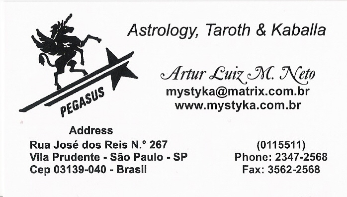 Artur's Business Card