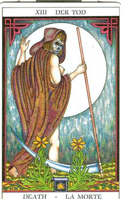 Tarot of Sissi:  Death