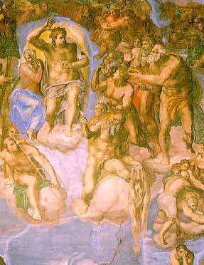 Last Judgment by Michaelangelo