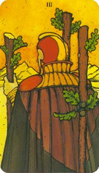 Morgan Greer Tarot: 3 of Wands