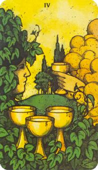 Morgan Greer Tarot: 5 of Cups