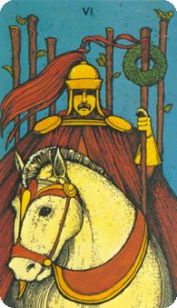 Morgan Greer Tarot:  6 of Wands