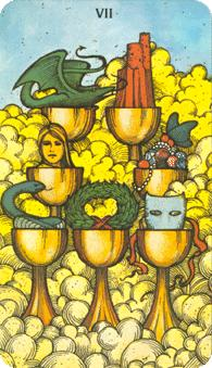 Morgan Greer Tarot: 7 0f Cups
