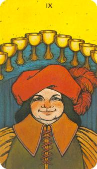 Morgan Greer Tarot: 9 of Cups
