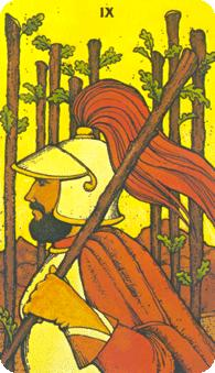 Morgan Greer Tarot: 9 of Wands