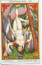Tarot of Sissi:  The Hanged Man