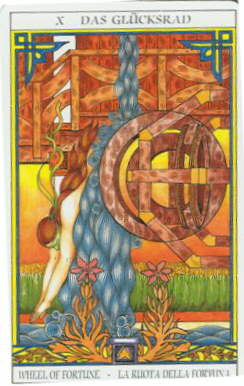 Tarot of Sissi:  Wheel of Fortune