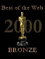 Best of the Web 2000 Bronze Award