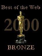 Best of the Web 2000 Bronze Award