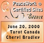 Peace Work Bronze Certified Site Award!!!